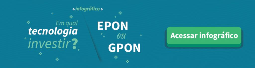 Infográfico: diferenças entre epon e gepon