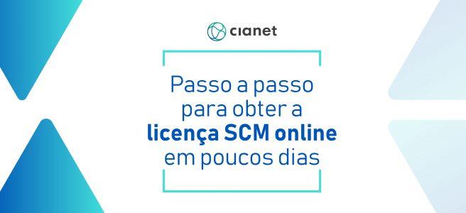Licença SCM Anatel